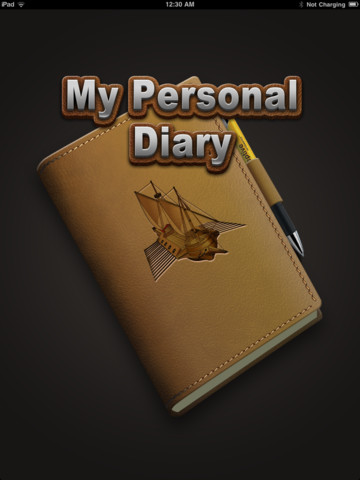 My Personal Diary Hd on ipad organizer app