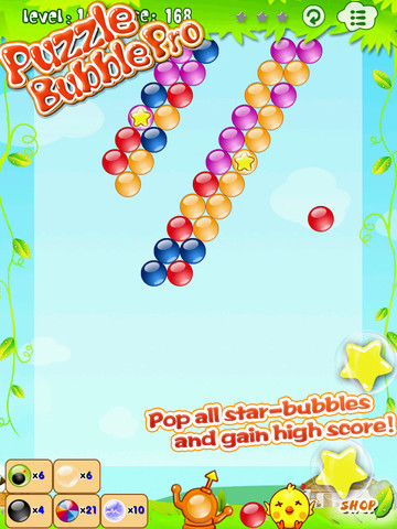 Bubble Ball – New physics puzzle game.