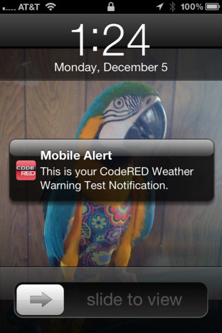 CodeRED Mobile Alert