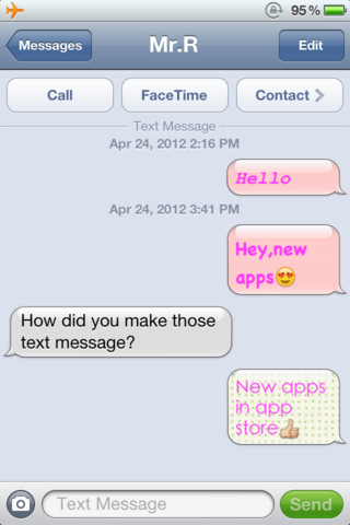 Color Text Messages+