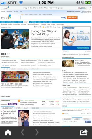 MSN Around The World