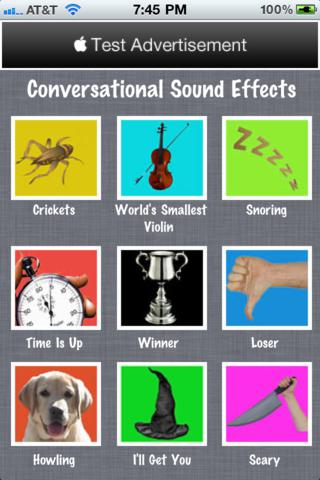 Conversational Sound Effects Soundboard celebrity soundboard effects