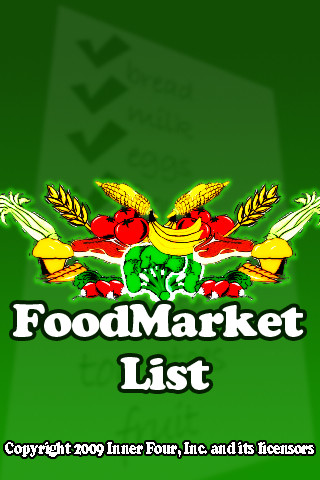 Food Market List 2.0