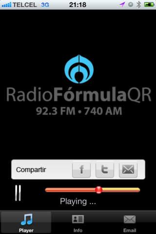 Radio Formula qr quintana roo price list