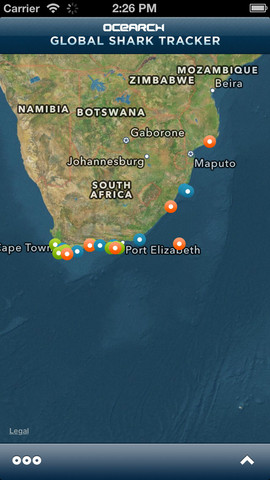 Global Shark Tracker 1.0
