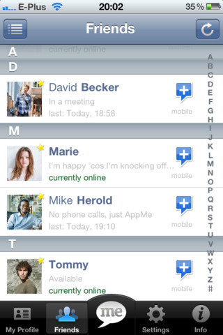 AppMe Chat Messenger