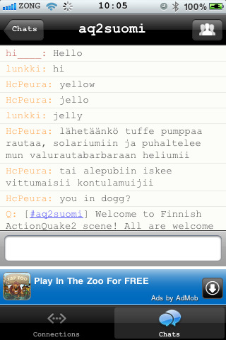 my free chat room