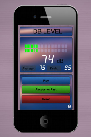 Decibel Meter HD Free App for iPad - iPhone - Utilities