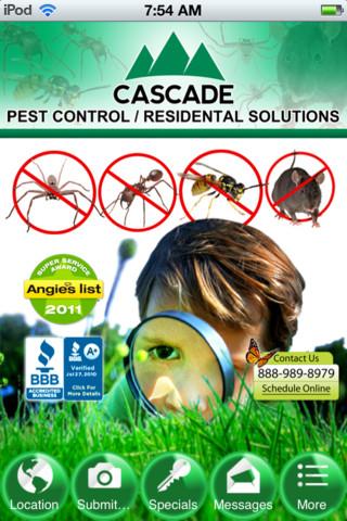 Cascade Pest Control pest control equipment