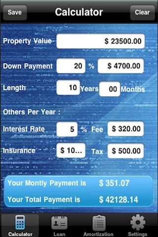 Broker business plan mortgage rate calculator