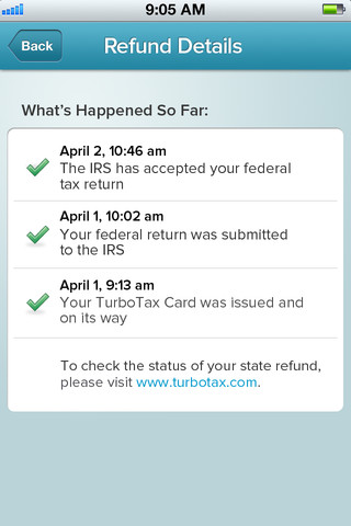 TurboTax Card Mobile