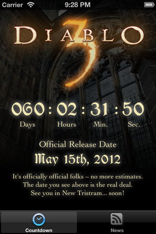 Countdown for Diablo diablo 3 forums