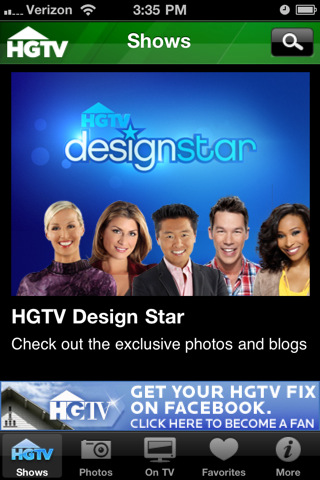 HGTV to GO for iPhone hgtv shows