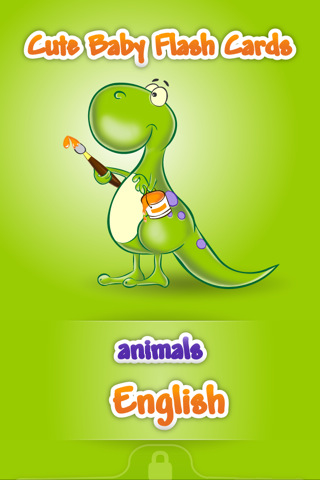 Cute Baby Flash Cards App for iPad - iPhone - Education