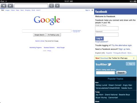 Social Scene for iPad