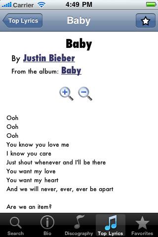 Justin Bieber Lyrics call justin bieber now