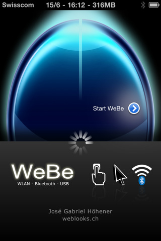 Download WeBe Bluetooth Mouse iPhone iPad iOS
