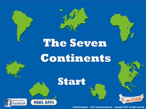 Tags : continents , seven , seven continents