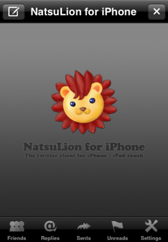 NatsuLion for iPhone