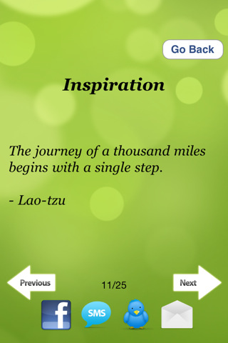 Great Quotes & Sayings 1.3 App for iPad, iPhone - Entertainment - app ...