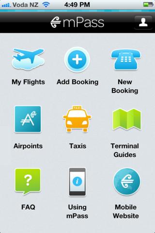 Air New Zealand - mPass new zealand air