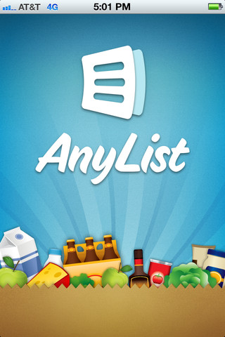 AnyList Grocery List