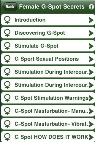 Download Female G Spot Secrets iPhone iPad iOS