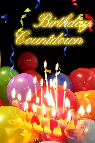 Birthday countdown 1 0 entertainment birthday countdown - Birthday countdown wallpaper ...