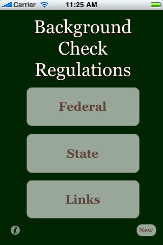 Background Check Regs background check public records
