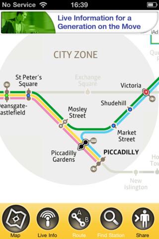 Manchester Metrolink manchester england