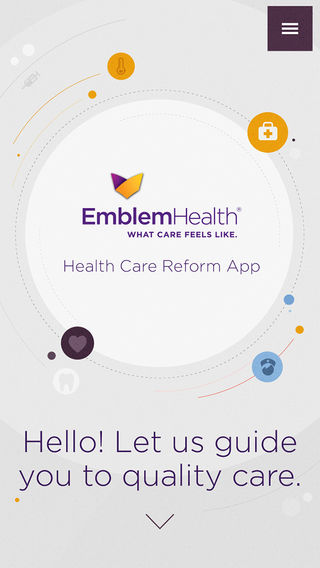 EmblemHealth's Health Care Reform App health care reform