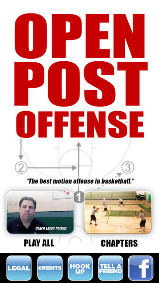 Open Post Offense: The Best Motion Offense In Basketball - With Coach Lason Perkins - Full Court Basketball Training Instruction basketball equipment training