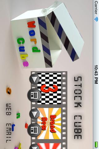 Stock Cube 02, Word Cube skatesports