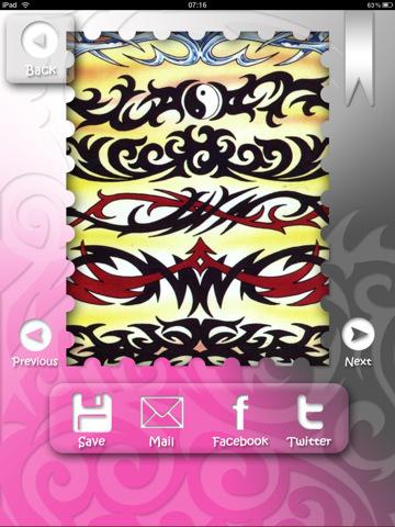 Girls Star Tattoo Designs 2011
