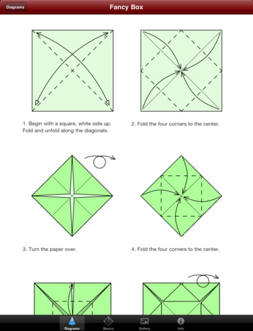 christmas origami hd education christmas origami. Black Bedroom Furniture Sets. Home Design Ideas