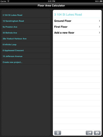 Floor area calculator utilities floor area area calculator for Floor area calculator