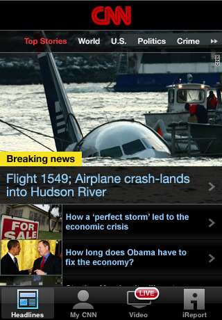 CNN App for iPhone (U.S.) 1.6
