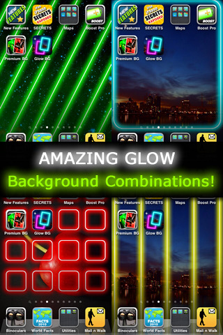 Glow Backgrounds FREE