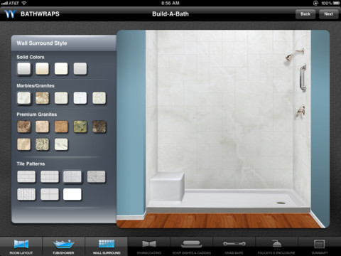 Bathwraps Build A Bath App For Ipad Iphone Lisisoft