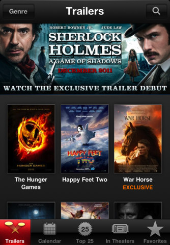 iTunes Movie Trailers 1.1