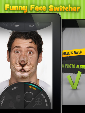 funny face app iphone switcher hd app for iphone utilities 1346