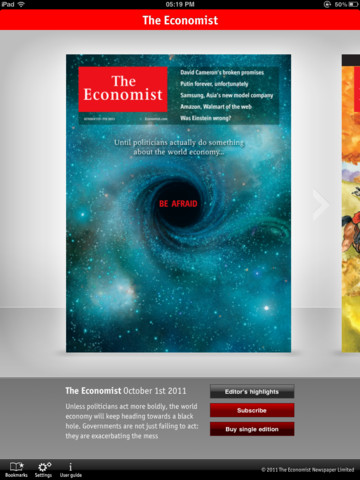 The Economist for iPad