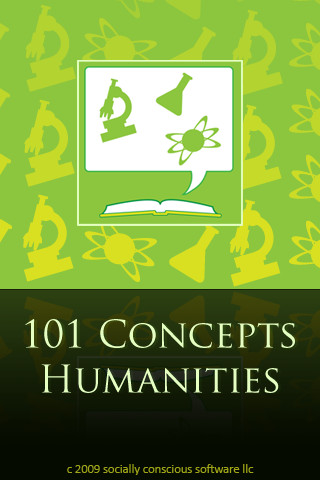 101 Concepts Humanities importance of humanities