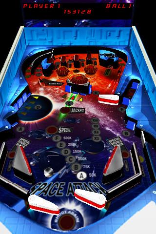3D Pinball Space Attack 3d pinball games