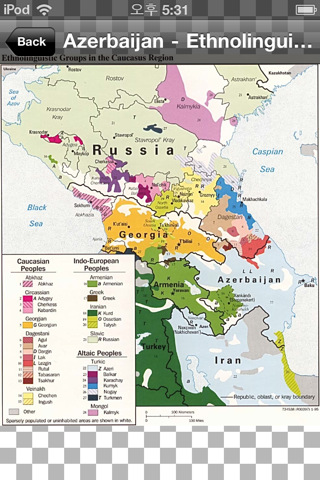 Thematic Maps of World