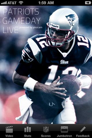 Patriots+game