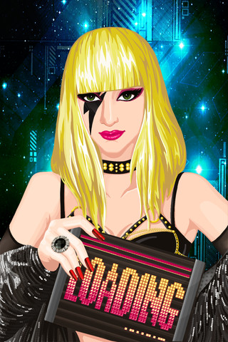 Lady Gaga Celebrity Makeover - play online for free