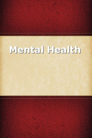Mental Health Handbook mental health services