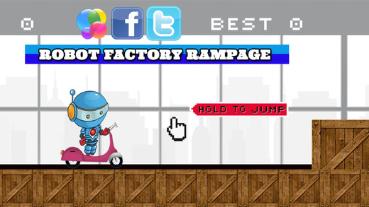A Aatomic Robot Factory Rampage factory automation robot