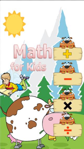 Math for kindergarten English number education for kids preschool children development